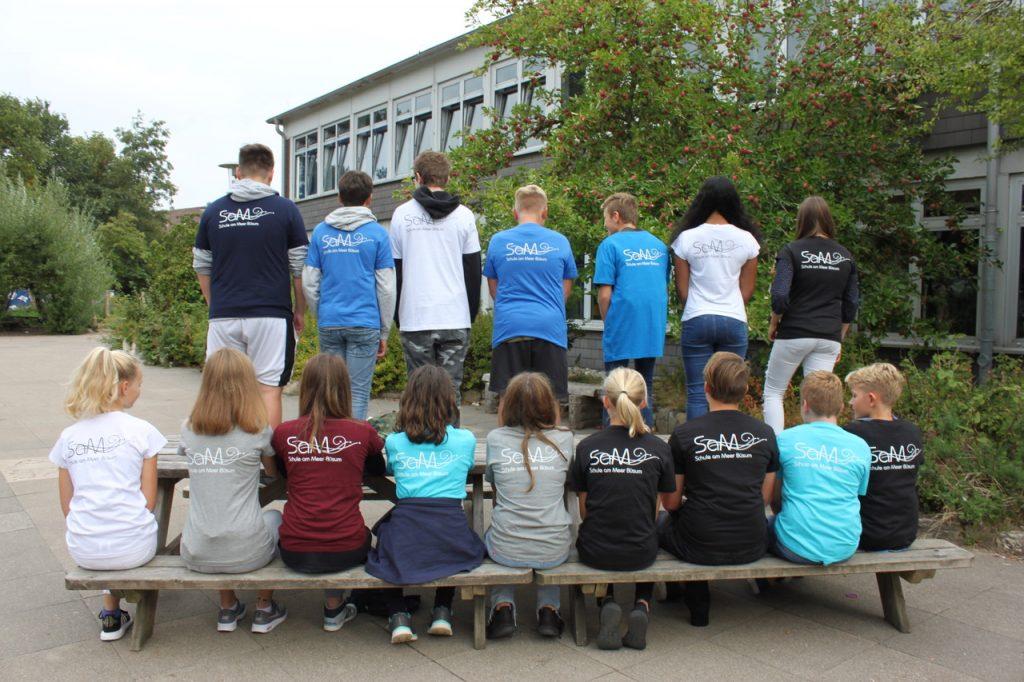 Shirts der Schülerfirma